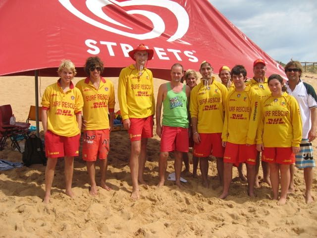 Beach Patrol at Mona Vale