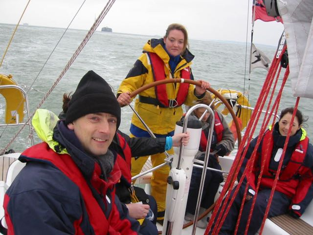 Team building on the Solent